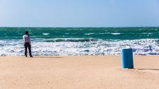 Free At The Beach Royalty Free Stock Photos - 29263948