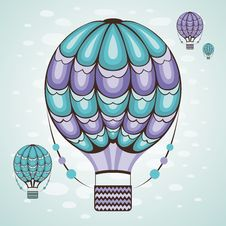 Free Hot Air Balloon Stock Photo - 29264650