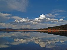 Teton Lake Reflection Royalty Free Stock Images