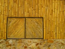 Free Bamboo Window Stock Photo - 29266690