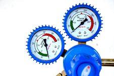 Pressure Meter Stock Photography