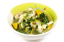Aom Kai, Thai Food Stock Photography