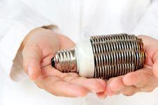 Free Coin Light Bulb Concept Stock Photos - 29268303
