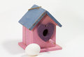 Free Birdhouse With Egg Stock Image - 29279081