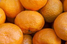 Free Bunch Of Fresh Mandarin Oranges Stock Image - 29271221