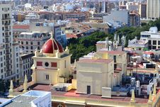 Free Aerial View Of Malaga Stock Photography - 29271462