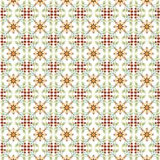 Free Floral Islamic Pattern Stock Image - 29271551