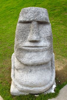 Free Moai Statue Stock Images - 29275584