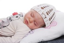 Free Cute Sleeping Baby Stock Photos - 29279613