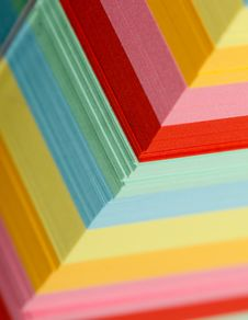 Colorful Papers Royalty Free Stock Image