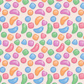 Free Seamless Pattern With Colored Candy Stock Image - 29294131