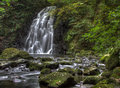 Free Glenoe Waterfall Royalty Free Stock Image - 29295836