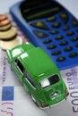 Free Car, Calculator And Money Stock Photo - 29296100