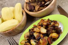 Roasted Potato Royalty Free Stock Photos