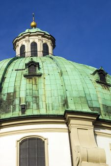 Free St Peter S Church Vienna Royalty Free Stock Image - 29292366