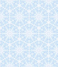 Free Seamless Ornament With Snowflakes Royalty Free Stock Image - 29292956