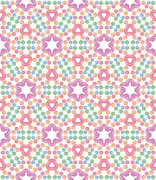 Free Seamless Pattern With Pink Candy Royalty Free Stock Photography - 29294077