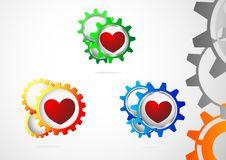 Free Gear Love Inside Stock Photo - 29294710