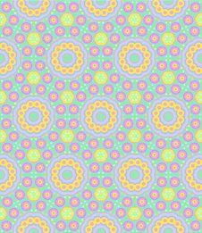 Free Childish Festive Seamless Pattern Stock Photography - 29295332