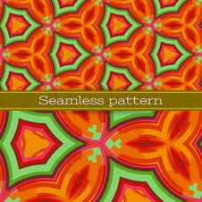 Free Vector Geometric Seamless Pattern Royalty Free Stock Photo - 29296805