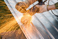 Free Metal Cutting Sparks Royalty Free Stock Images - 2931639