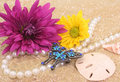 Free Flowers And Jewelry Stock Image - 2934211