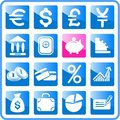 Free Money Icons Stock Image - 2939301