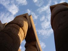 Free Karnak, Heaven Stock Photo - 2930090
