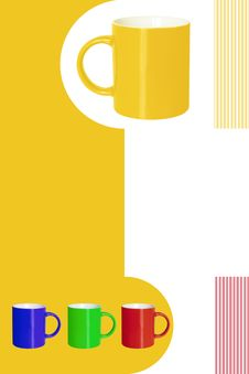 Free Color Cups Stock Photography - 2930222