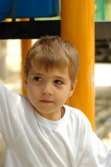 Handsome Boy Stock Image