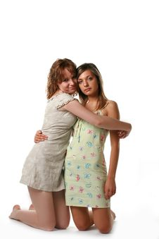Free Girlfriends Stock Photography - 2930942