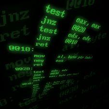 Free Assembler Procedure Stock Image - 2931051