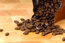 Free Whole Coffee Beans Stock Image - 2931671