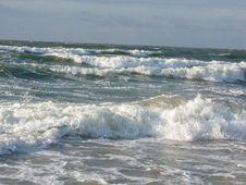 Free Shtorm, Azov Sea Coast Stock Image - 2932471