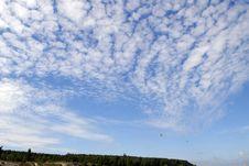 Free Landscape Under Blue Sky Royalty Free Stock Photography - 2932827