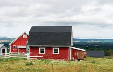 Free Red Barn Stock Photo - 2933970