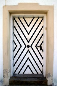 Free Old Stylish Door Stock Image - 2934691