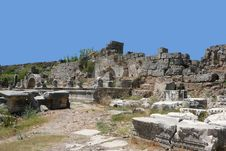 Free Ancient Perge Royalty Free Stock Image - 2934706