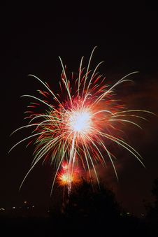 Free Fireworks Royalty Free Stock Photography - 2935297