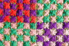 Free Woolen Mat Background Royalty Free Stock Images - 2935339