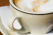 Free Cup Of Cappuccino Stock Photography - 2935422