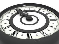 Free Clock. Midnight Royalty Free Stock Image - 2935486