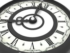 Clock. Eight O Clock Royalty Free Stock Photography