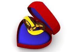 Free Wedding Rings Stock Image - 2935591