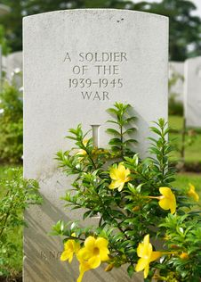 Free Soldier S Memorial Royalty Free Stock Image - 2936036