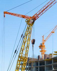 Free Cranes Stock Photography - 2936892