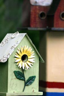 Free Birdhouses Royalty Free Stock Photography - 2937107