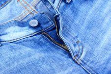 Free A Jeans Zip. Royalty Free Stock Photo - 2937575