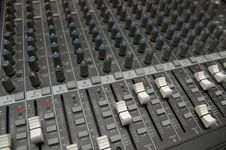 Free The Mixing Desk Stock Photos - 2937883
