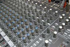 Free The Mixing Desk Royalty Free Stock Photos - 2937948